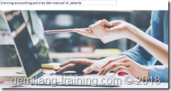 pelatihan Accounting Policies and Procedure Manual jakarta